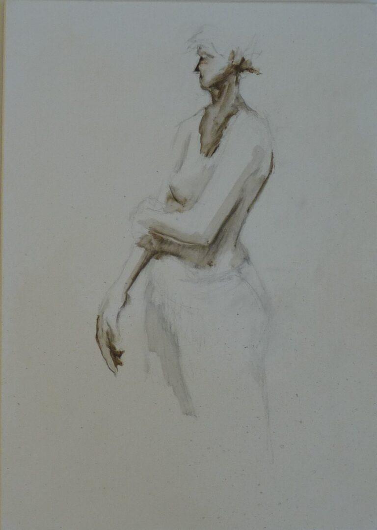 'Bather Studies #2' $350 Graham Crow