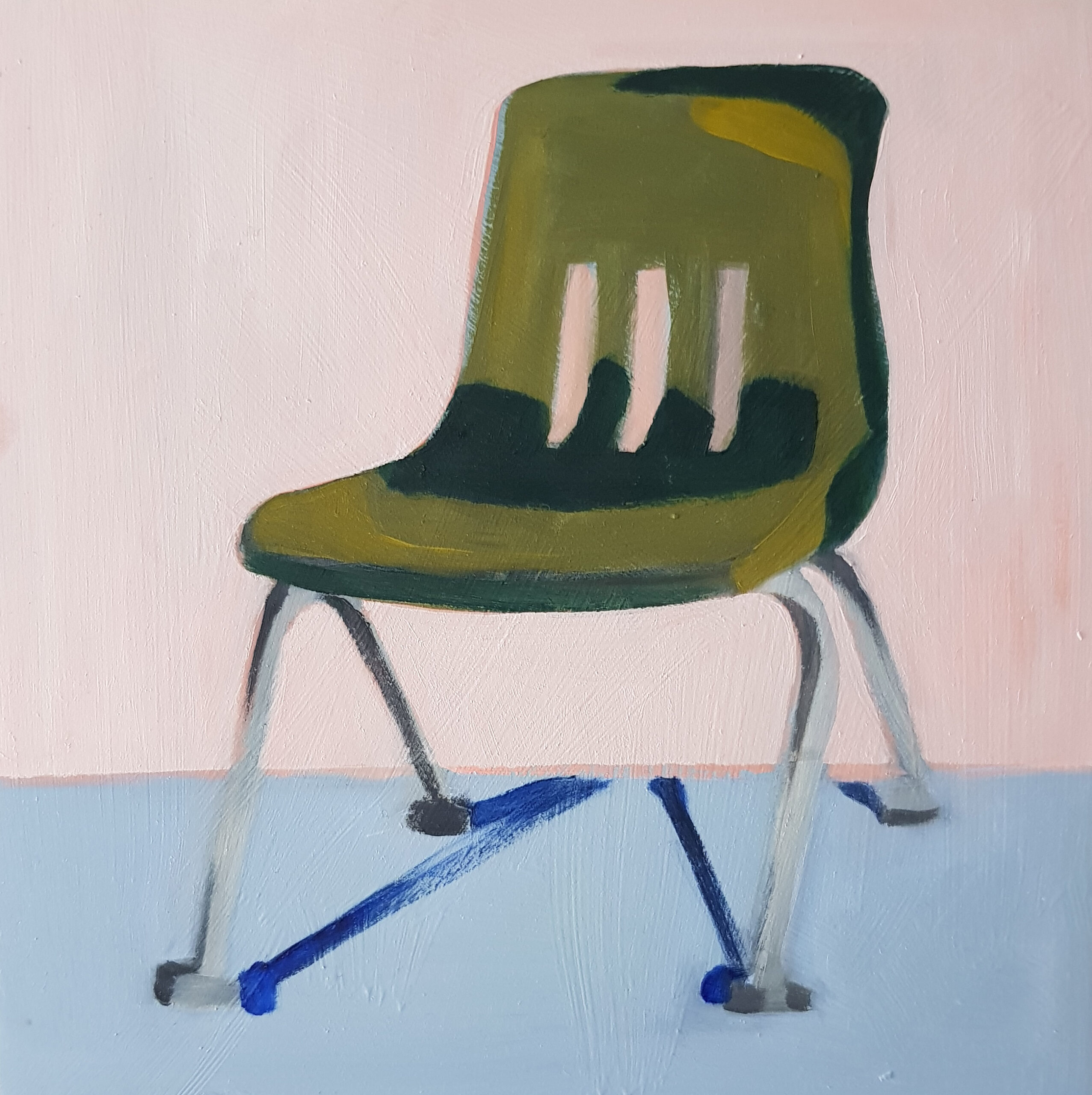 'Pink chair' Emma Bossley $320 (200x200mm)